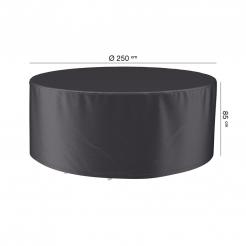 Чохол для обідньої групи круглий Ø250x85 см