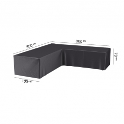 Чехол для кресел и диванов угловой 300х300х100х70