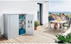 Компактный шкаф для балкона Romeo, Biohort