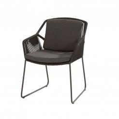 Обеденный садовый стул Accor Antracite