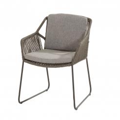 Обеденный садовый стул Accor Mid Grey