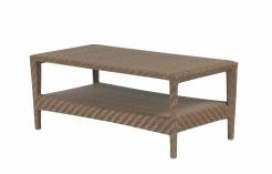 Кофейный стол 115 см Aruba 6мм волокно