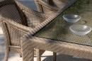Стул с подлокотниками Aruba (волокно 6, 7 мм)