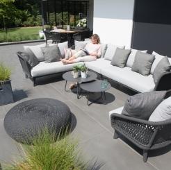 Большой модульный диван для террасы Belize