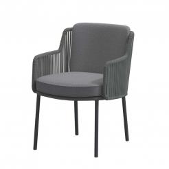 Обеденный веревочный стул Bernini Platinum