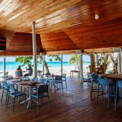 Мебель для летней площадки, барная и обеденная зона