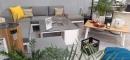 Модульный уличный лаунж диван Byron от 4SO