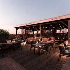 Комплект меблів для літнього кафе, Nardi