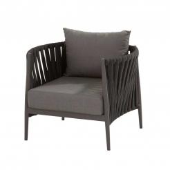Кресло крупного плетения для террасы Cantori
