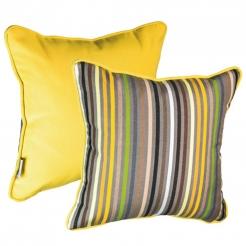 Подушка декоративная 35х35 см Confetti Yellow+Lemon, Sunbrella