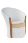 Балконный комплект белого цвета Corona&Cool (3шт.)