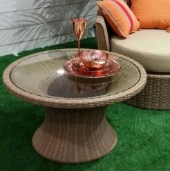 Стол кофейный 80х45 см Corona