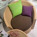 Лаунж-комплект для балкона Mazuvo Corona Rustic Honey