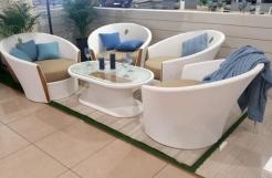 Комплект Corona стол+4 креcла. (3 шт)
