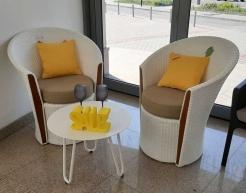 Балконний комплект білого кольору Corona&Cool