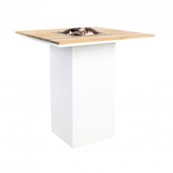 Барний стіл-камін CosiLoft Bar white/teak, Cosi