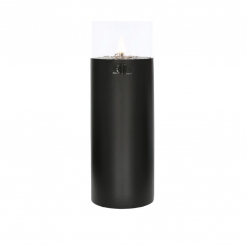 Уличная свеча Cosiscoop Pillar Black, h106 см