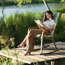 Кресло-качалка Folio Rocking с подушкой, Nardi