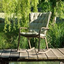 Крісло-гойдалка Folio Rocking з подушкою, Nardi