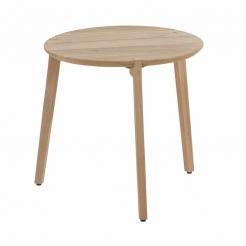 Стол Gabor dia55х50 см Teak/teak legs