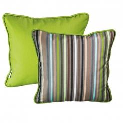 Подушка декоративная 35х35 см Confetti Green+Macao, Sunbrella