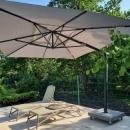 Зонт солнцезащитный Hacienda Charcoal 400х300