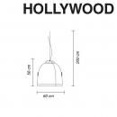 Лампа-прожектор Hollywood, MyYour