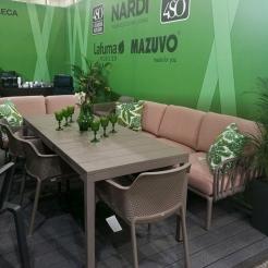 Обеденная группа с диваном Komodo&Nет, Nardi