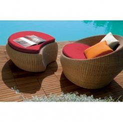 Кресла с подножками и столиком Pandora RH
