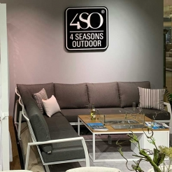 Модульный диван для террасы Mauritius NEW white
