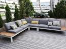 Модульный лаунж диван для террасы Mistral