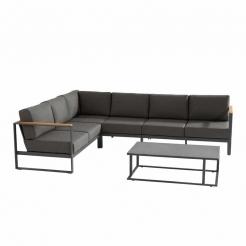 Практичный модульный диван для террасы Montigo