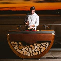 Островная кухня Narie kitchen Corten Premium