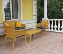 Комплект уличной мебели Net, Senape