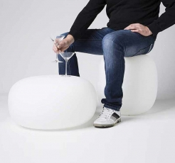 Лампа-пуф для саду Pandora