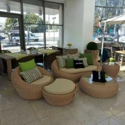 Крісла з підніжками та столом Pandora RH