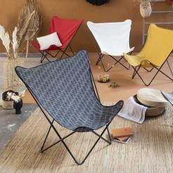 Раскладной мобильный стул Pop Up XL Cara/Noir