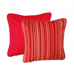 Подушка 50х50 см Porto Rosso+Paris Red, Sunbrella