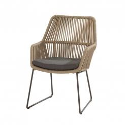 Обеденный веревочный стул Ramblas
