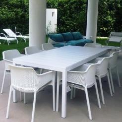 Обеденный комплект Rio&Net white, Nardi