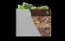Поднятые грядки-клумби VegetableBed 201x102x77 см