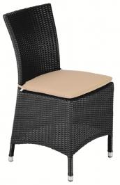 стул без подлокотников Hawai 6мм волокно