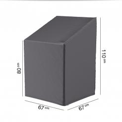 Защитный чехол для садовых стульев 67х67х80 см