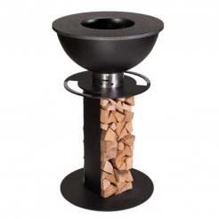 Садовый камин-гриль Stilo 600 Black