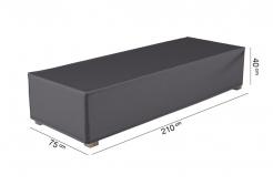 Захисний чохол для шезлонга 210х75х40 см