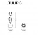 Садовий світильник Tulip, MyYour