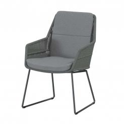 Обеденный веревочный стул Valencia Platinum