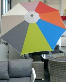 Разноцветный купол зонта Protect 340Р